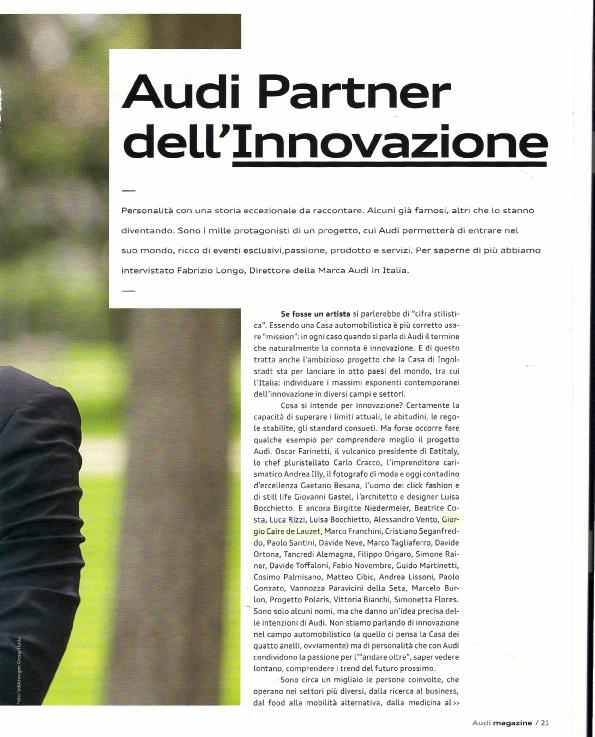Audi Innovative Thinking - ARTICOLO_pt1