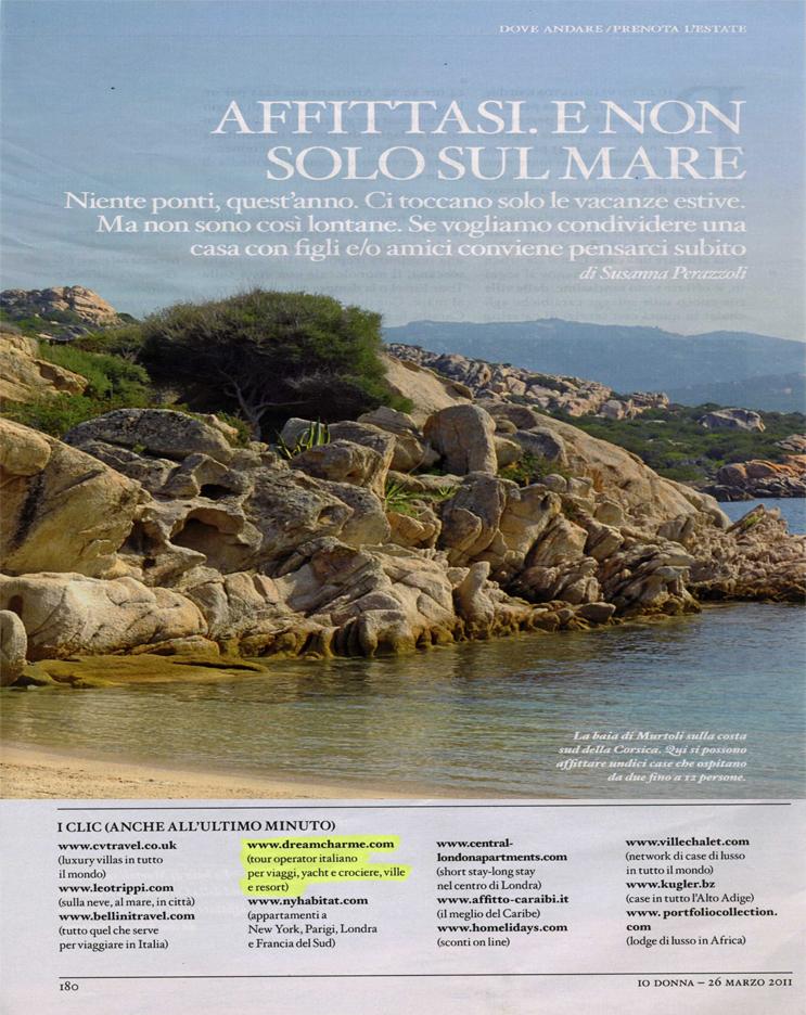 Articolo Io Donna - 26-03-2011