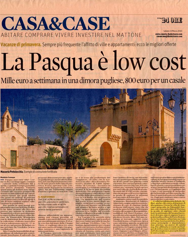 IlSole24Ore_Pasqua_Articolo